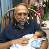 Bill with his beautiful new granddaughter Savannah