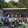 The stage at the Zoo featuring the Rondell's performing at the concert