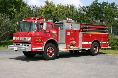 Fire 241 at Kentuck, VA in Pittsylvania County is this 1981 Ford C800/Atlas Brute 3 with a 1000/1000.  Kentuck purchased this truck from Casville, North Caroline.  Photographed in 2008.