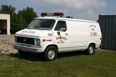 Ringgold, VA - Fire 238 - Chevrolet Van.