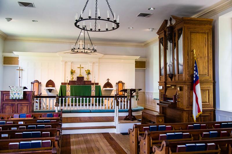 Yorktown Grace Episcopal Church Interior