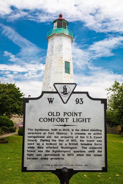 Old Point Comfort Light