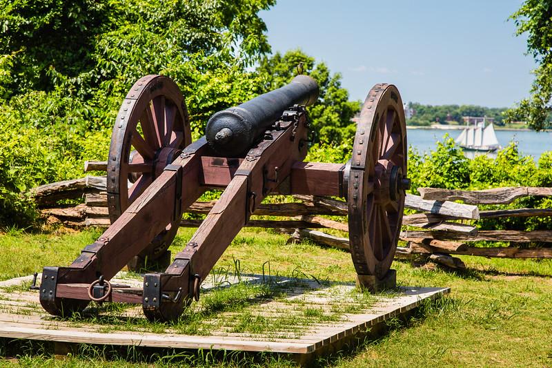 Yorktown Battlefield and Area