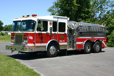 Former Tanker 2 is this 1995 Spartan/S&S, 1250/3000 that was bought from Allegany, New York.  Received in 2013.  Sold to Portersville Muddy Creek TWP, PA in December of 2017.