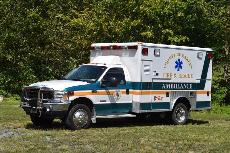 Ambulance 8, a 2004 Ford F-450/Wheeled Coach.
