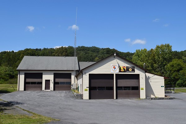 Fortsmouth Fire and Rescue Department - Warren County Station 8.