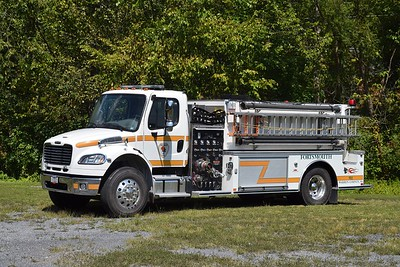 This 2011 Freightliner M2/Midwest Fire, 1000/2000 operates at Tanker 8.