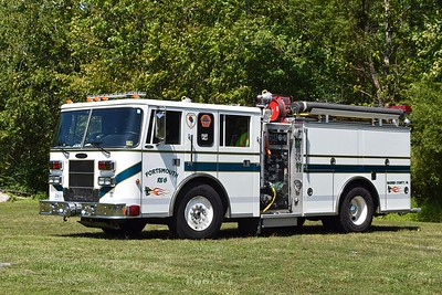 Rescue Engine 8 is a 1996 Pierce Saber, 1250/750, sn-EA404.
