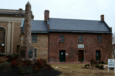 Old Jail Museum and statue in honor of Col. John S. Mosby