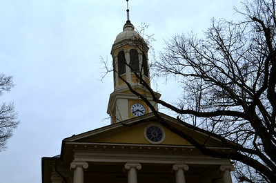 Top of the Fauquier County Courthouse