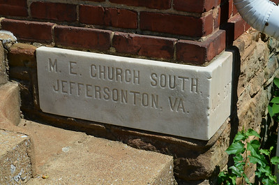 Corner of Jeffersonton United Methodist Church
