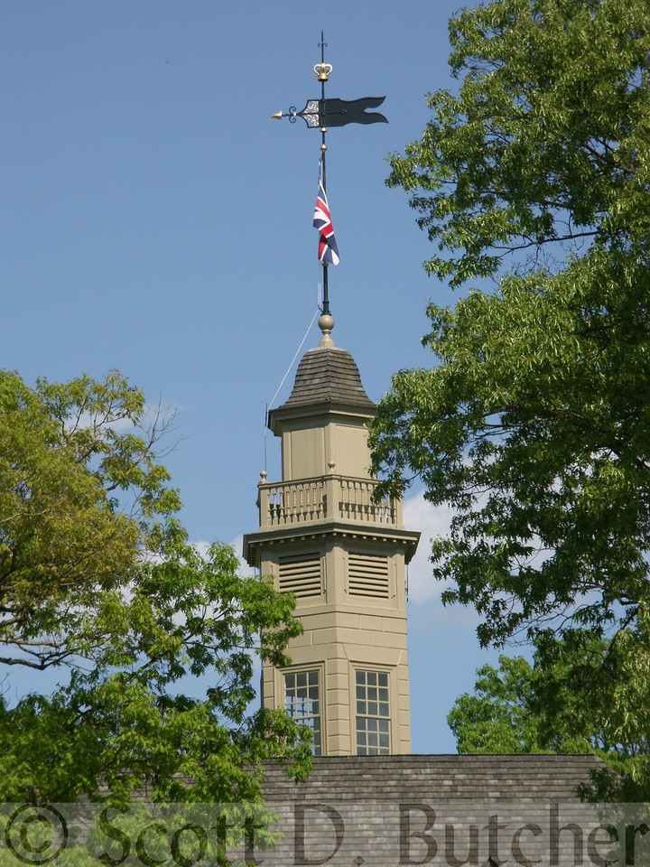 Capitol Building, Williamsburg, VA