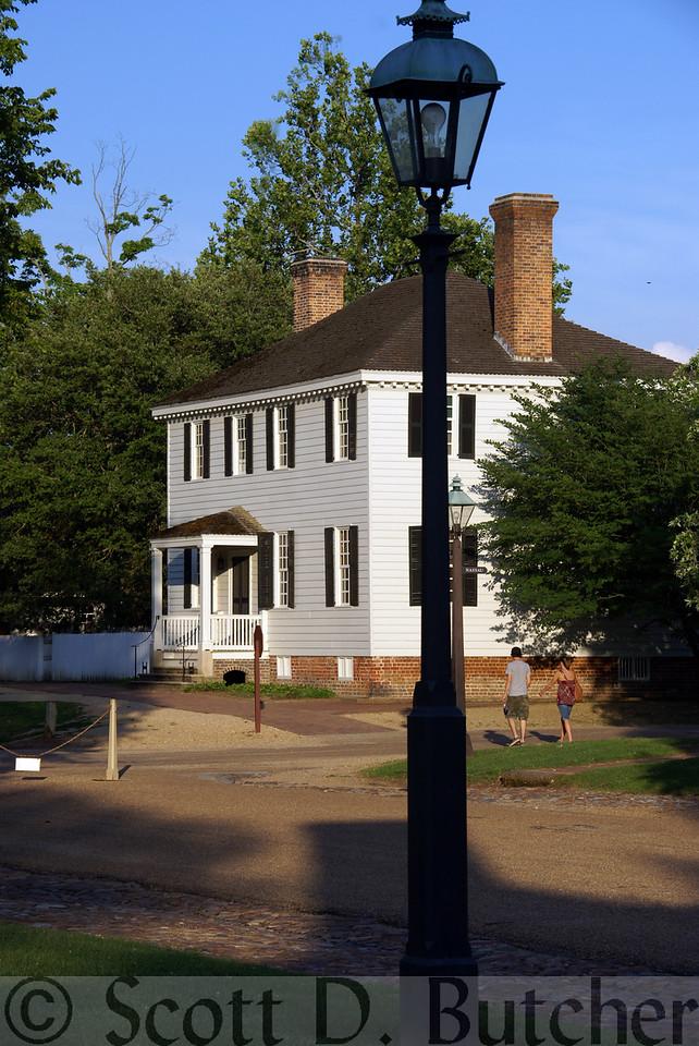 Taliaferro-Cole House, Williamsburg, VA