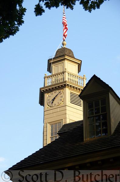 Capitol, Building, Williamsburg, VA