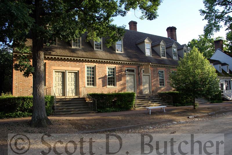 Brick House Tavern, Williamsburg, VA