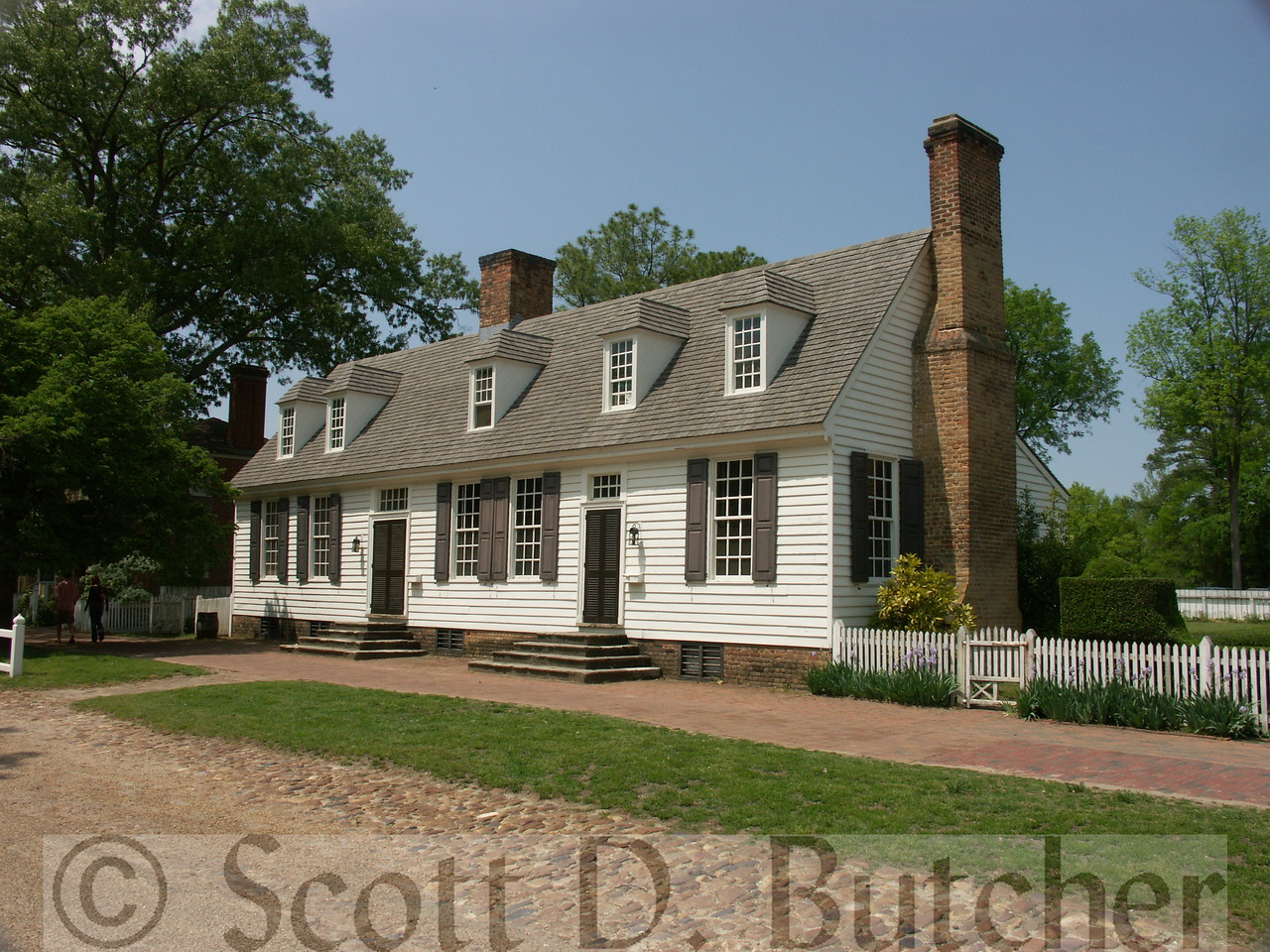 John Blair House, Williamsburg, VA