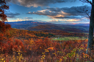 Skyline Drive Fall View