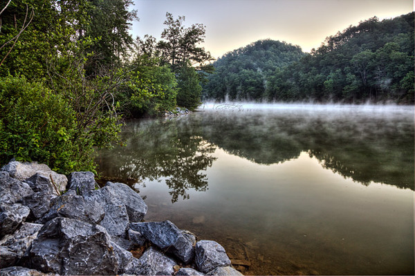 Foggy Morning at Hungry Mother State Park