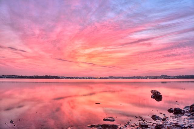 Sunrise in Alexandria, VA
