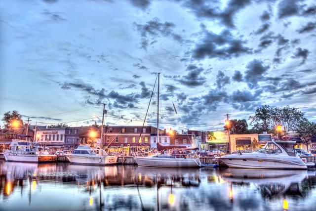 Sunrise in Annapolis, MD