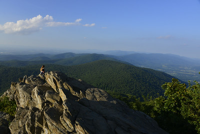 Humpback Rocks, just off the Blue Ridge Parkway in Virginia
