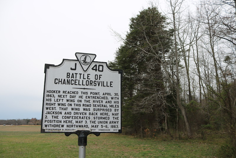 Civil War Battle of Chancellorville