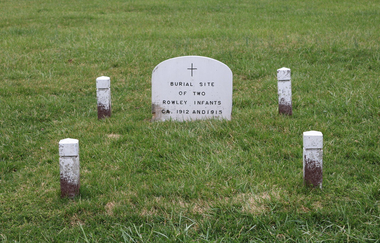 Rowley Infants Burial Site