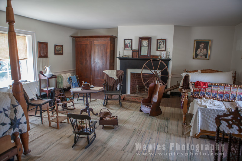 Bedroom in McLean House
