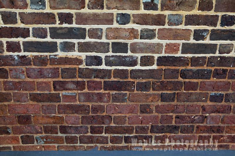 Brick Repair Detail