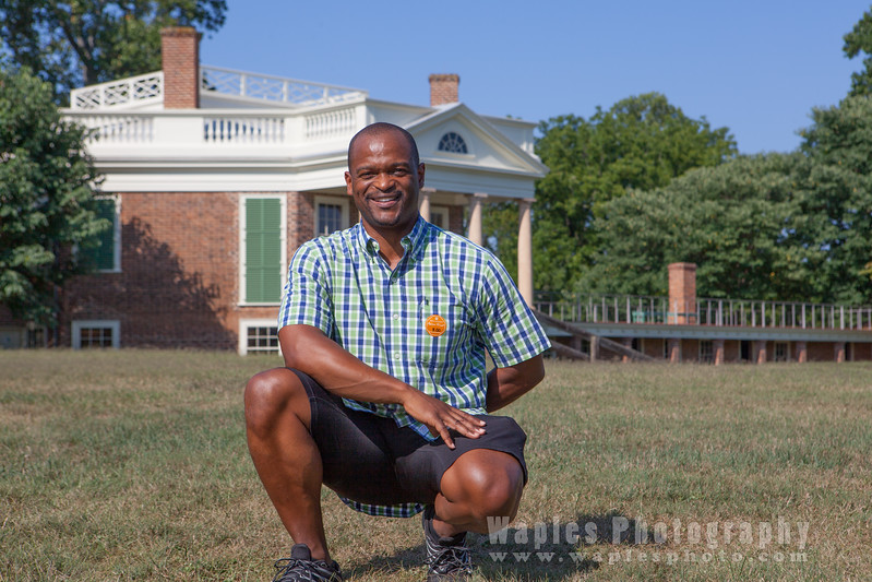 Stephen at Poplar Forest