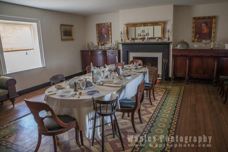 McLean House Dinning Room