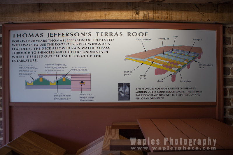 Jefferson's Terrace Roof