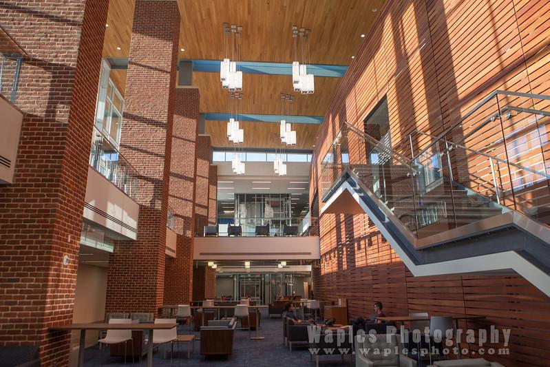 Inside Demoss Hall