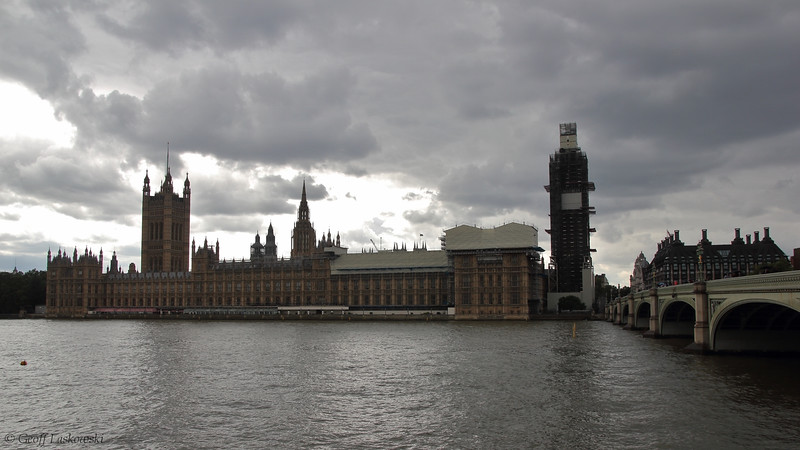 Westminster, Big Ben, and the Thames - London, England