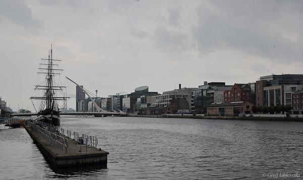 The River Liffey - Dublin, Ireland