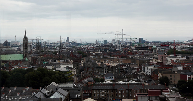 View of Dublin from the Guiness Brewery Gravity Bar