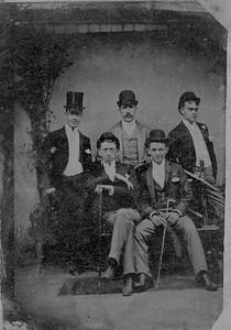 Tintype, ca. 1890