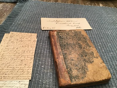 Civil War Diary and Letters, ca. 1865