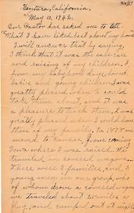 Memoir, 1942