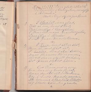 Journal, ca. 1920 (or older)
