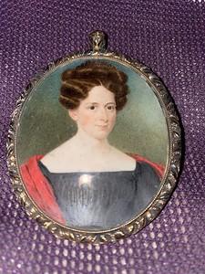 Mourning Pendant, 1817 - 1830