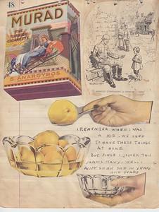 WWI Scrapbook, ca. 1919