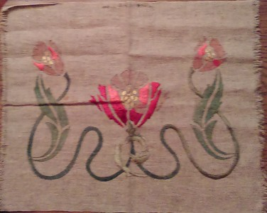 Hand Stitched Material, ca. 1915