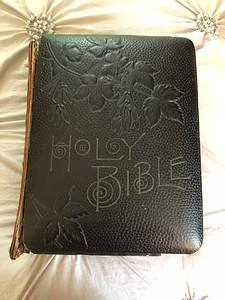 Family Bible, ca. 1880
