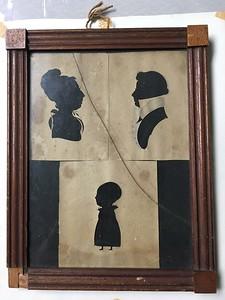 Silhouettes, ca. 1820s