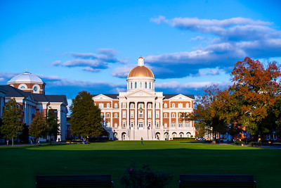 Great Lawn and Christopher Newport Hall