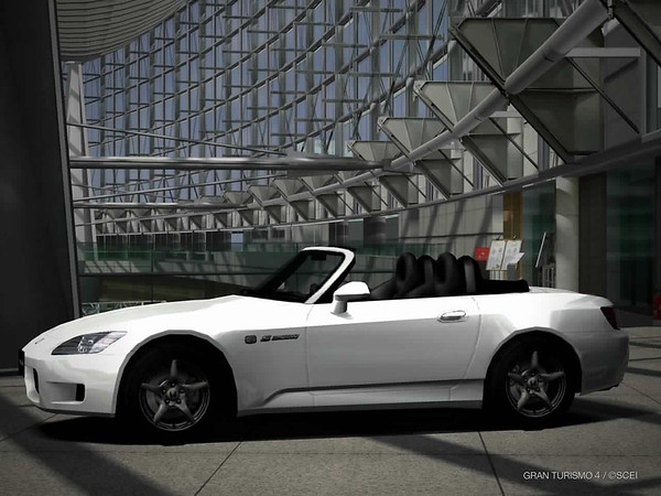 "The first car I decide to ""buy"" in GT 4's ""Gran Turismo Mode"" is this used '00 S2000 Type V"