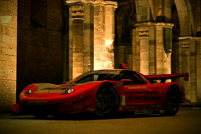 Premium ARTA NSX '06 (SuperGT) at San Galgano Abbey