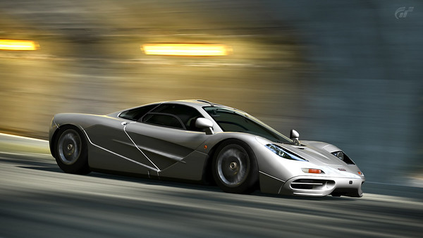 McLaren F1 on Trial Mountain