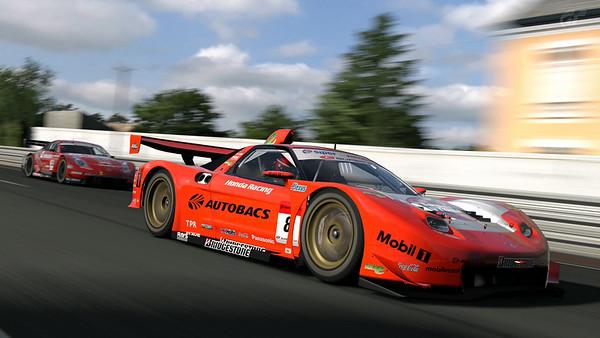 Premium ARTA NSX '06 (SuperGT) at Circuit de la Sarthe 2009